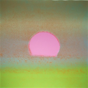 sunset [316] by andy warhol